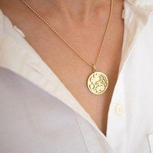 ISO Jennifer Meyer Good Luck Necklace